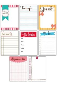 Adorable for Project Life #projectlife lizn