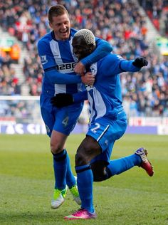 Arouna Kone, James McCarthy and Wigan are going full throttle towards safety. Again.