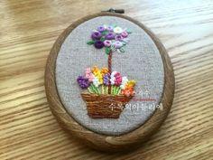 KSH님의 즐거운 프랑스자수시간 <수록의 프랑스자수 배우기> : 네이버 블로그 Hand Embroidery, Coin Purse, Purses, Christmas Ornaments, Holiday Decor, Blog, Lava, Minis, Roses