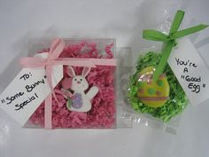 Easter Treats – By Donna @ Edmonton Packaging Supplies, Black Felt, Easter Treats, Creative Crafts, Grosgrain Ribbon, Lime, Bunny, Bath Products, Christmas Ornaments