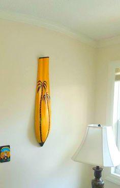 Items similar to Beach House Decor Painted Palm Tree Palm Frond Art Wall Vase Decor Palm Tree ART Coastal Beach Decor on Etsy Palm Tree Crafts, Palm Tree Art, Palm Tree Leaves, Florida Palm Trees, California Palm Trees, Palm Frond Art, Palm Fronds, Palm Tree Drawing, Woodland Art