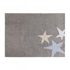 Alfombra Lavable Lorena canals Tres Estrellas Azul