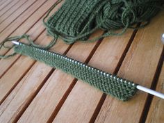 Tricot facile - Gants tricotés au point mousse à 2 aiguilles pour adultes