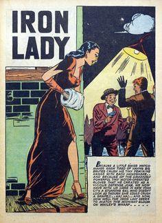 Iron Lady!