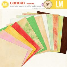 Candid papers *M3 by Lynne-Marie