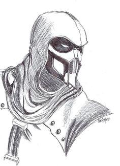 MK - Noob Saibot by SlotheriuS on DeviantArt Scorpion Mortal Kombat, Kitana Mortal Kombat, Mortal Kombat Art, Pencil Art Drawings, Cool Art Drawings, Art Drawings Sketches, Assassins Creed Art, Arte Dc Comics, Pencil Drawings