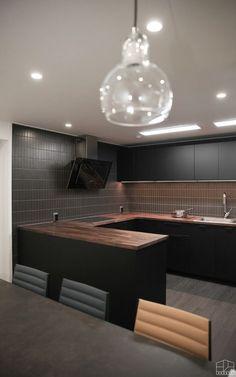 Minimalist kitchen by 홍예디자인 minimalist Kitchen Island, Interior Design, Room, House, Inspiration, Home Decor, Gardening, Interior, Island Kitchen