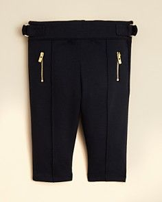 Chloé Infant Girls' Zip Pocket Trousers - Sizes 6-18 Months