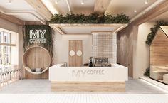 Spa Interior Design, Coffee Shop Interior Design, Boutique Interior, Bar Interior, Restaurant Interior Design, Retail Interior, Cafe Shop Design, Bakery Design, Store Design