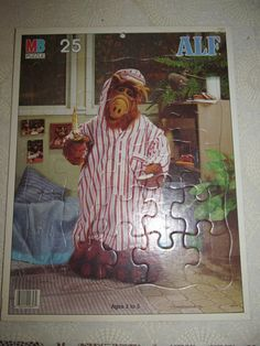 Cookie NO Cat ALF Alien Life Form SciFi TV Show 1987 80s Nostalgia Alf Doll. $18.00, via Etsy.