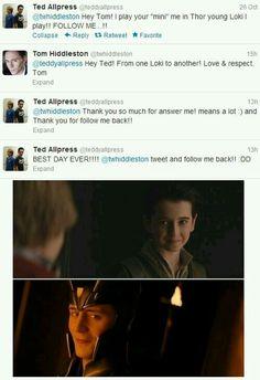 Tom is so sweet.