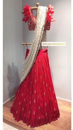 Order on WhatsApp number or ArtistryC. Half Saree Lehenga, Lehenga Blouse, Bridal Lehenga Choli, Indian Lehenga, Anarkali, Ghagra Choli, Indian Attire, Indian Ethnic Wear, Indian Dresses