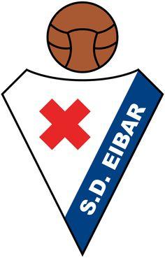 SD Eibar, La Liga, Eibar, Gipuzkoa, Basque Country, Spain Football Team Logos, Soccer Logo, Football Soccer, Spain Football, Soccer World, Sports Clubs, Sports Logos, Professional Football, Barcelona