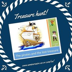 Here is a true treasure hunt adapted for kids of 6-7 years. They will have to do various tests and to solve all the riddles to discover a fabulous treasure! This amazing adventure delights children who dive into the marvelous world of pirates! www.anniversaire-en-or.com/en/ #anniversary #party #party🎉 #partykids #partyday #partyideas #partyplanner #kids #kidsday #kidsparty #kidsbirthday #birthday #birthdayfun #birthdaygame #happy #happykid #happytimes #happyday #treasurehunt #treasure…