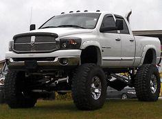 I'm not sure if this truck has enough lift haha! Ram Trucks, Dodge Trucks Lifted, Dodge Cummins, Jeep Truck, Diesel Trucks, Cool Trucks, Pickup Trucks, Chevy Trucks, Lifted Trucks For Sale
