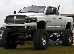 I'm not sure if this truck has enough lift haha!