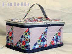 The Lovely Sewing - Il Cucito Incantevole: Il Bauletto - sal the top