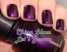 Nails of the Day - China Glaze Let's Groove!