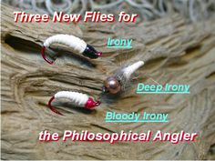 Irony, A Simple Caddis Fly Imitation made of Rubber Band - Fly Fish Ohio