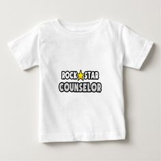 Rock Star Counselor Infant T Shirt, Hoodie Sweatshirt