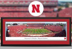 Nebraska Cornhuskers Panoramic Pictures & Posters