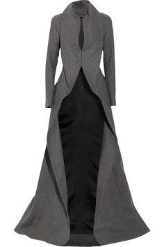 Alexander McQueen Wool and Cashmere blend Coat