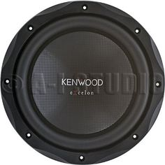 "Kenwood KFC-XW12 - 12"" 4 Ohm Subwoofer by Kenwood. $59.50. 12"" 4-ohm subwoofer, textured polypropylene cone with rubber surround, power range: 50-400 watts RMS, peak power handling: 1,200 watts, frequency response: 34-300 Hz, sensitivity: 85 dB, top-mount depth: 6-3/16"", sealed box volume: 1.25 cubic feet, ported box volume: 2.0 cubic feet, Top Mount Depth (inches): 6, Bottom Mount Depth (inches): 6 3/16, Cutout Diameter or Length (inches): 11, Vas (liters): 78.7, Fs (Hz): 25, Q..."