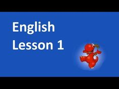 Lesson 1 - Hello. What's your name? - YouTube
