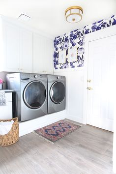 Park Home Reno: Laundry Room Makeover - Classy Clutter | Washer Odor? | Smelly Towels? | Stinky Clean Laundry? | http://WasherFan.com | Permanently Eliminate or Prevent Washer & Laundry Odor with Washer Fan™ Breeze™ |#Laundry #WasherOdor