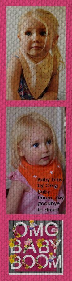 Spotty Dotty Baby Bandana Bib by Its a Bibble