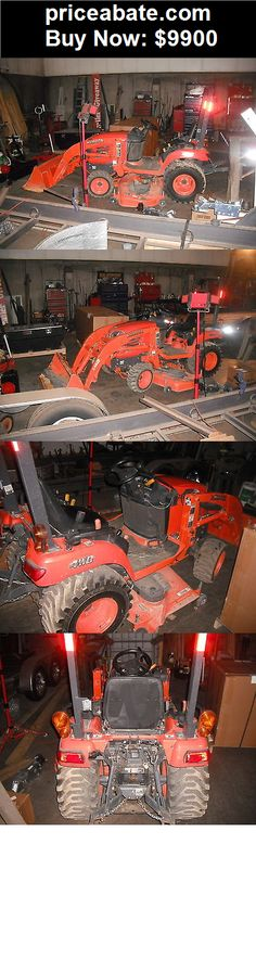 Heavy-Equipments: Kubota BX2350 Loader 4x4 Compact Tractor 332 Hours - BUY IT NOW ONLY $9900