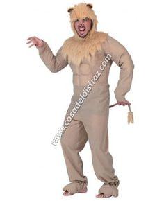 Disfraz Divertido de León para hombre. #DisfracesOriginales #Carnaval http://casadeldisfraz.com/