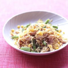 This pasta dish can be made up to two days ahead; let cool, then cover and refrigerate until ready to serve, chilled or at room temperature.