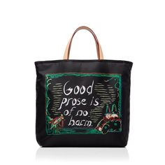 MZ Wallace and Raymond Pettibon New York Public Library Bag -  The design company, founded by Monica Zwirner and Lucy Wallace Eustice in 2000, has partnered with artist Raymond Pettibon on a limited-edition tote bag, with all proceeds going to the Library's special collection