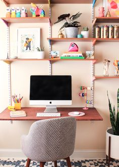 Refresh your desk for spring with this diy floral mouse pad. All you need is your favorite fabric and a few inexpensive supplies!