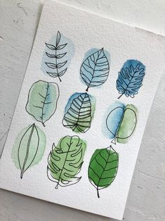 Watercolor And Ink, Watercolor Paintings, Watercolor Art Lessons, Plants Watercolor, Watercolors, Watercolour Illustration, Abstract Watercolor Art, Watercolor Projects, Watercolor Lettering