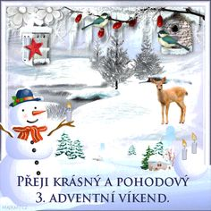 Merry Christmas, Christmas Ornaments, Advent, Snoopy, Czech Republic, Holiday Decor, Gifs, Fictional Characters, Beautiful