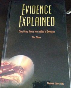 Wordless Wednesday: New Edition! Evidence Explained #genealogy