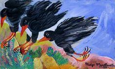 Biographies, Impressionist, Moose Art, Africa, Artwork, Artist, Animals, Painting, Women