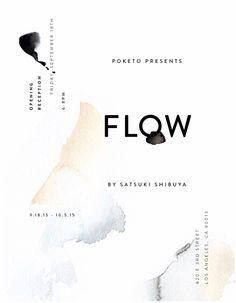 FLOW — SOLO EXHIBITION AT POKETO
