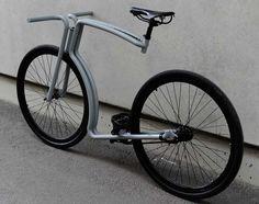 Bicicletta a scatto fisso e telaio in acciaio della Velonia Bicycles