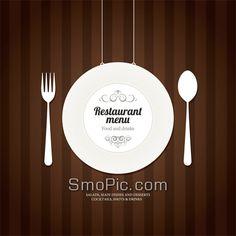 78_smopic.com_Free creative tableware restaurant menu cover background vector design templates illustrator AI EPS