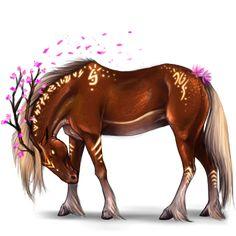 Ain't It Fun, Unicorn Purebred Spanish Horse Palomino #48 - Howrse US