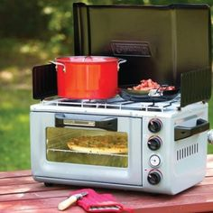 Coleman outdoor portable oven