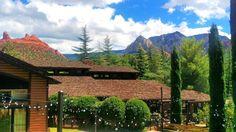 We never get tired of this view! #lauberge #redrockview #laubergememories #loveatlauberge #sedona