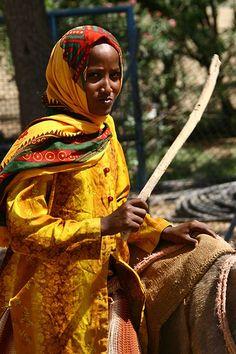 Woman of Eritrea. © Eric Lafforgue  www.ericlafforgue.com