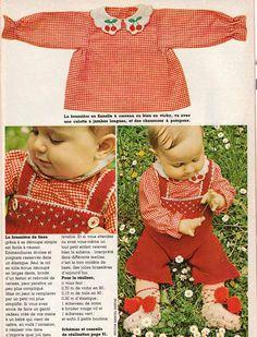 layette bébé, tricot et couture vintage, 100 idées magazine