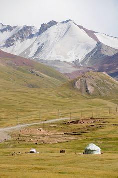 Rural Kyrgyzstan. (V)
