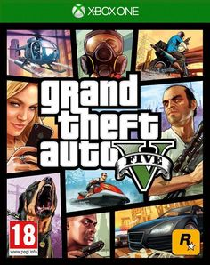 New Sealed Grand Theft Auto V ( GTA 5 ) Game (Microsoft Xbox One,2014) - UK