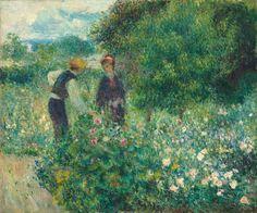 Picking Flowers by Renoir